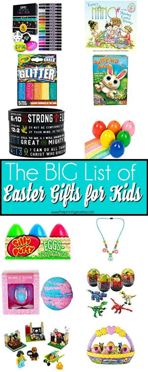 The Big List of Easter Gifts for Kids