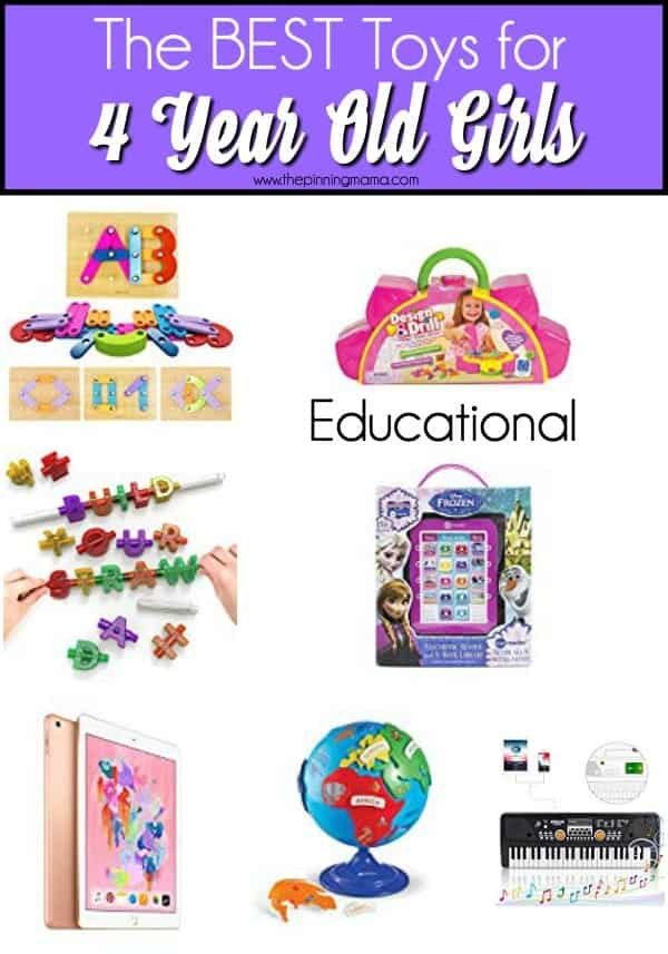 The BEST Educational toys for 4 year old girls.