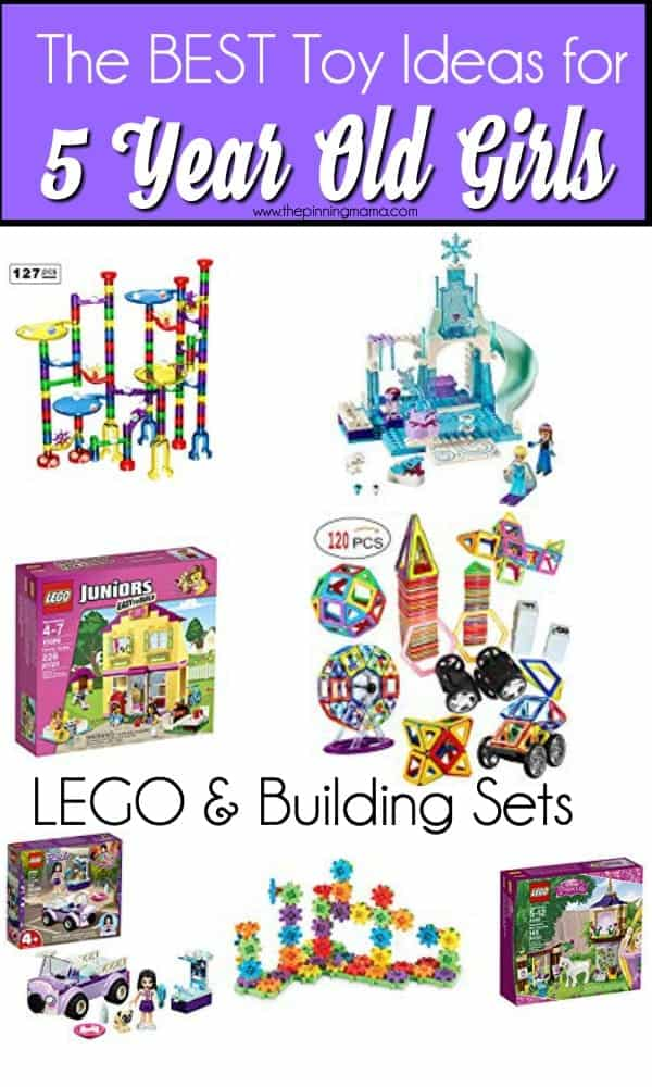 The Best ideas for lego and building sets for 5 year old girls.
