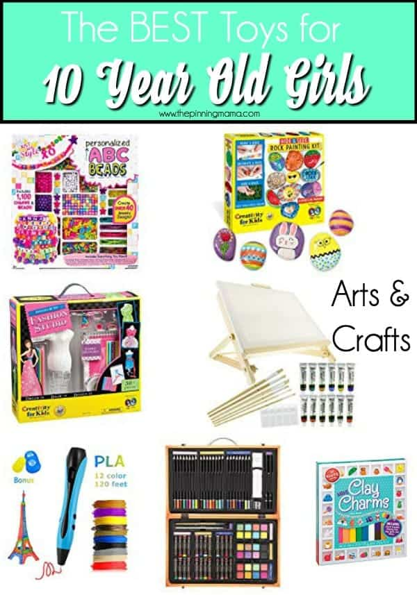 The Best art & craft ideas for 10 year old girls.