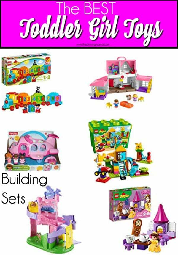The BEST LEGO's and little people sets for toddler girls.