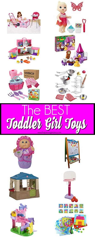 The BEST Toddler Girl Toys.
