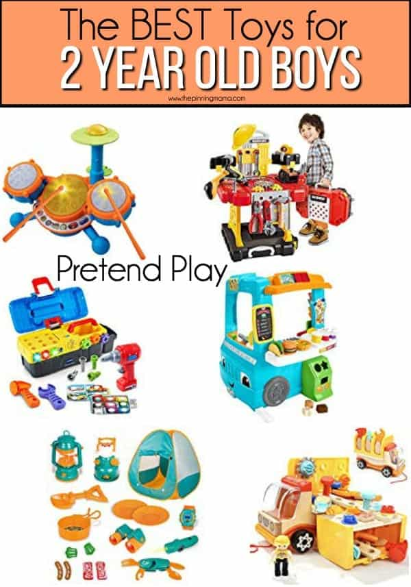 The BEST Pretend Play for 2 year old boys.