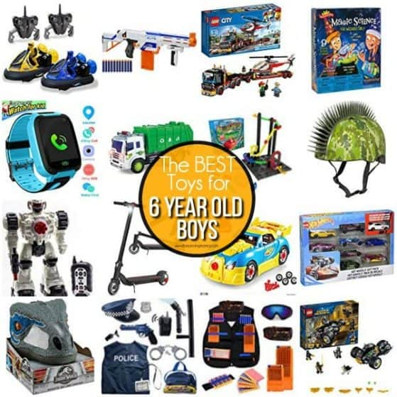 The BEST toy ideas for 6 year old boys.