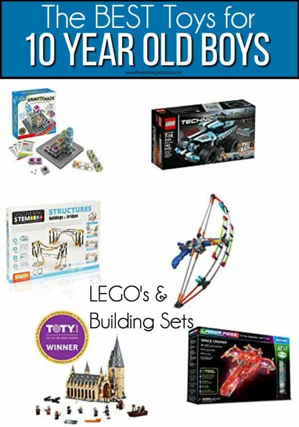 The BEST Building Sets & Lego's for 10 year old boys.