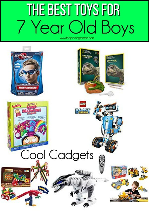 The BEST Toys/ Cool Gadgets for 7 year old boys.