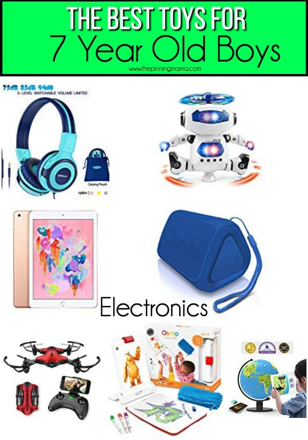 The BEST Electronics for 7 year old boys.