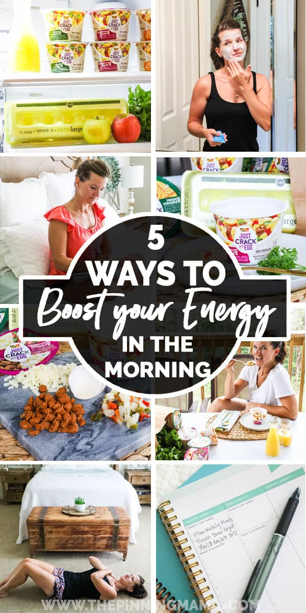Collection of ways to get more energy in the morning