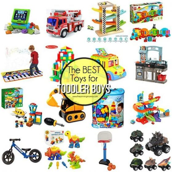 The BEST Toys for Toddler boys.