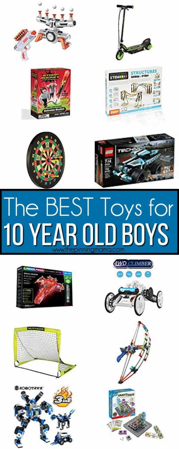 The BEST Toys for 10 year old boys!
