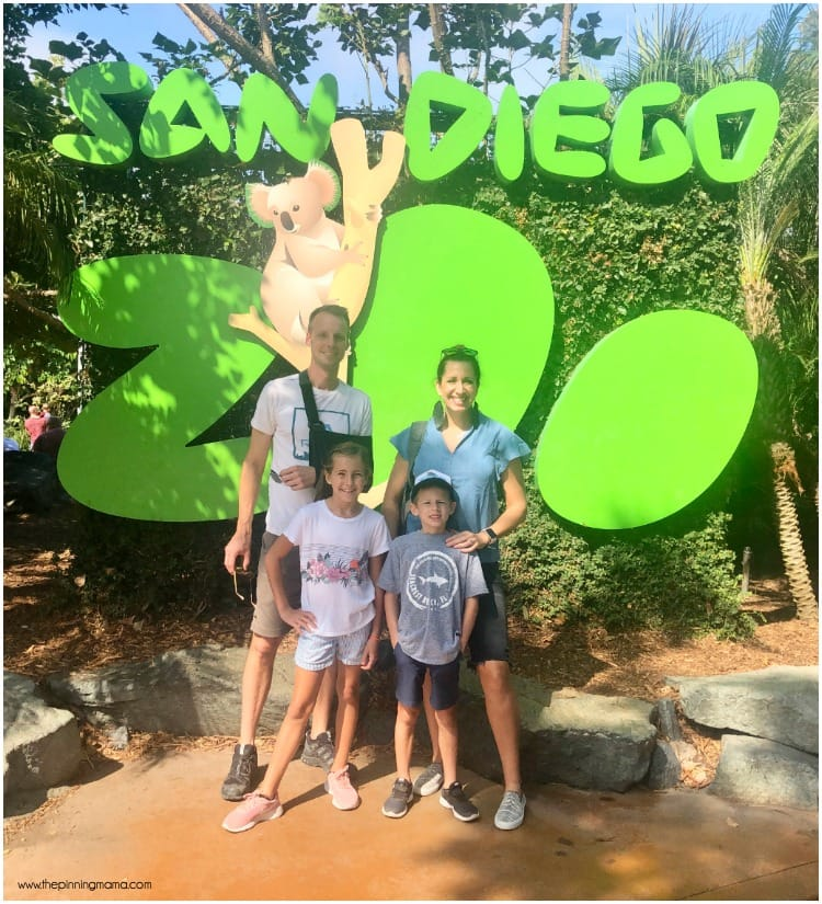The Big list of what to do with kids at the San Diego Zoo.