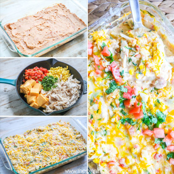 Step by Step how to Make Rotel Chicken Casserole