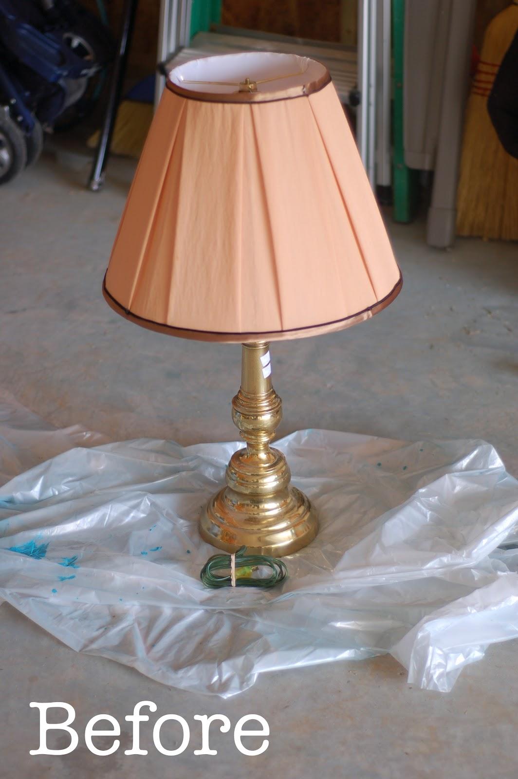 Brass Lamp Redo The Pinterest Project