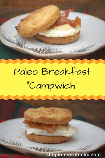 """Paleo Breakfast """"Campwich"""""""