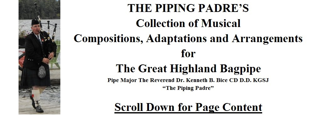 Free Bagpipe Sheet Music