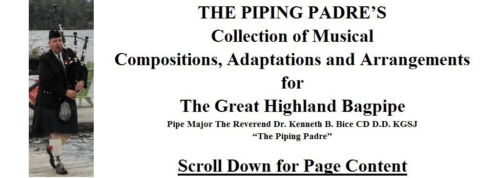 Free Bagpipe Sheet Music