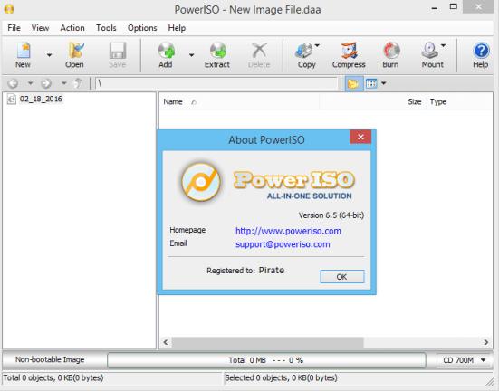 PowerISO 7.5 crack download