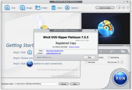 WinX DVD Ripper crack download