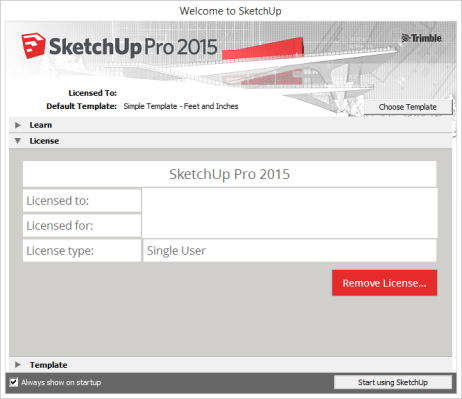 SketchUp activation code