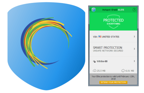 Hotspot Shield Elite subscription for free