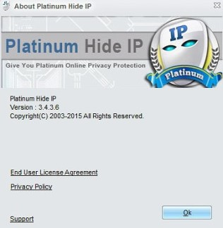 Platinum Hide IP activation loader
