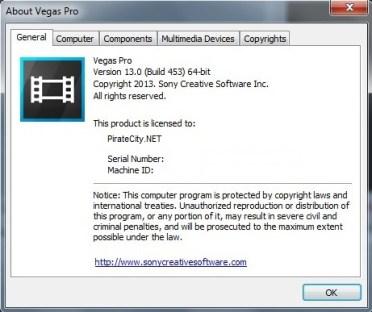 Sony Vegas PRO 13 crack download