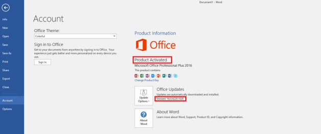 download office 2016 pre - activated
