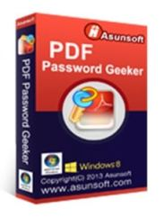 Asunsoft PDF Password Geeker license key