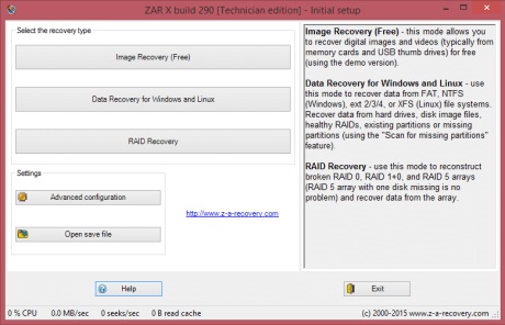 ZAR Zero Assumption Recovery crack free download