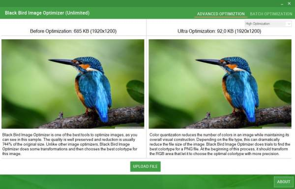 Black Bird Image Optimizer Pro license code