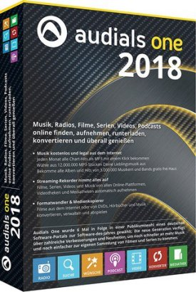Audials One 2018 full crack torrent download
