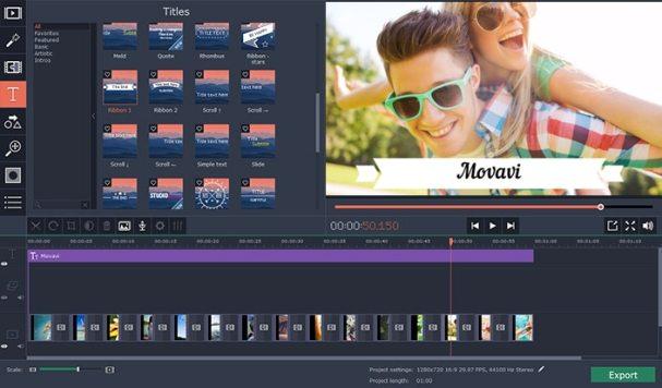 Movavi Video Editor plus activation key
