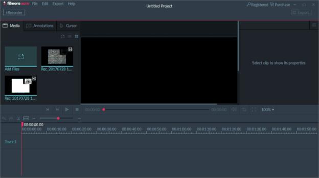 Filmora Scrn Screen Recorder 1.1.0 serial key