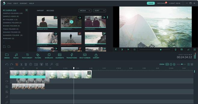 Wondershare Filmora 10.0.2.1 With Crack [LATEST]