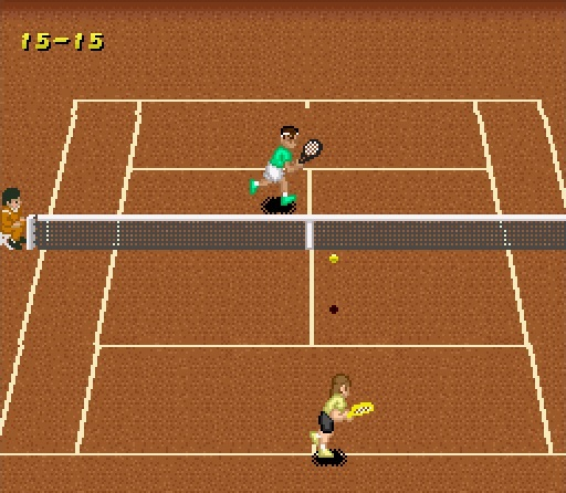 Image result for Super Tennis SNES