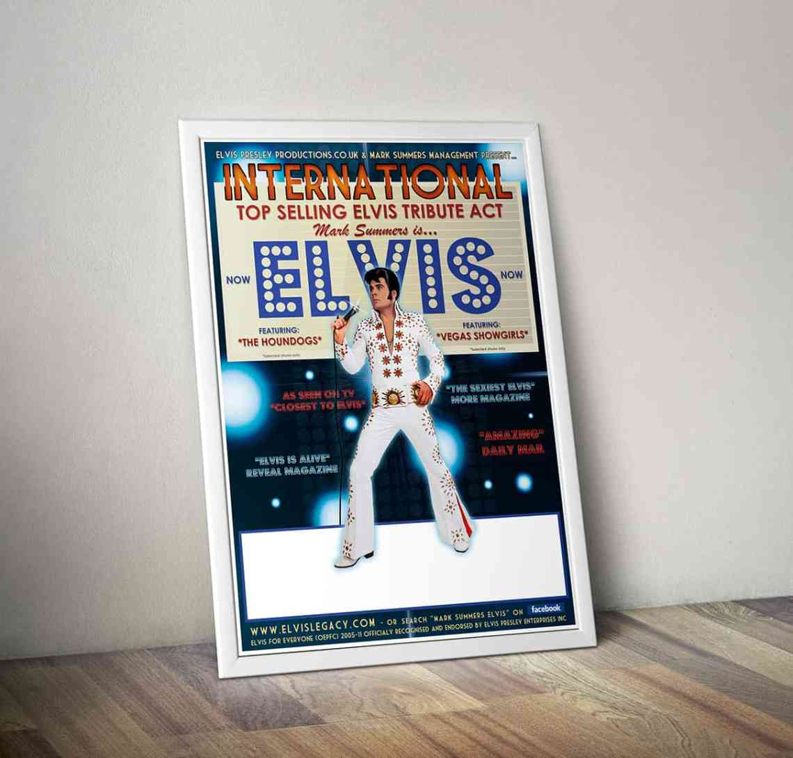 Elvis Tribute Poster Design