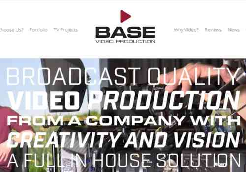 Website Design Stourbridge for Base Video