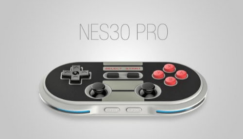 NES30 Pro Wireless Bluetooth Controller Dual Classic Joystick