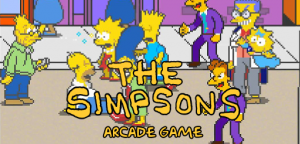 The Simpsons Arcade Game is a retro beat 'em up game with pixel graphics