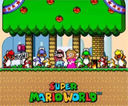 Super Mario World Graphics