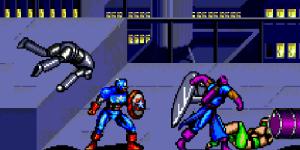 Captain America and The Avengers - Sega Genesis Beat 'Em Up Games