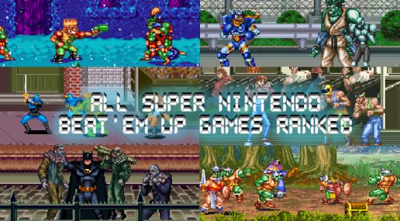 Super Nintendo Beat 'em Up Games