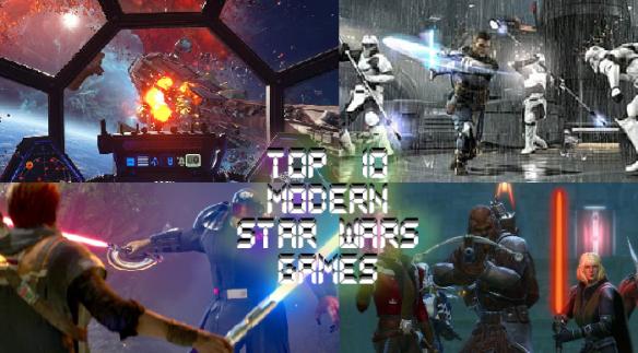 Top 10 Modern Star Wars Games