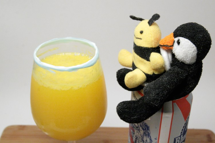 Toothpaste and Orange Juice Beermosa Harvey Bee Complete