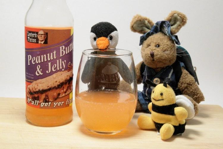 Peanut Butter Jelly Soda