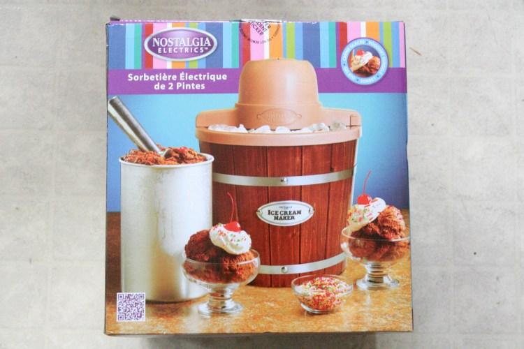 Slim Fast Ice Cream Maker