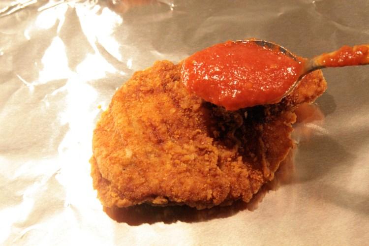 KFC Chizza Sauce Chicken
