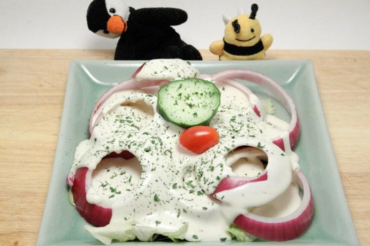 Wedding Banquet Salad Finished