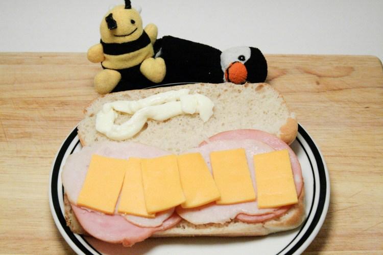 Lunchables Sandwich Prepared