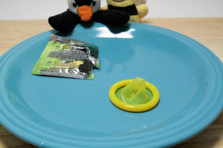 Condom Taste Test Banana